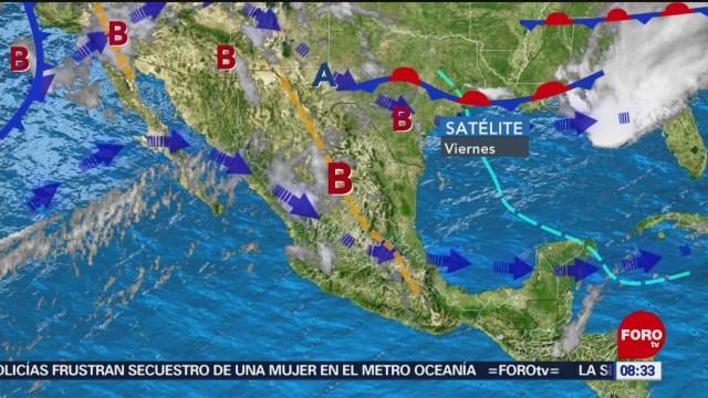 FOTO: Pronostican tormentas fuertes en noreste de territorio mexicano, 6 de abril 2019