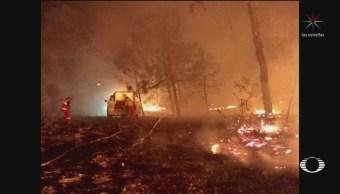 Foto: Protección Civil Confirma Incendios Estados México 15 de Abril 2019