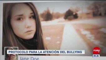 Protocolo para la atención del bullying