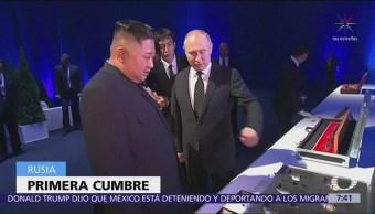 Putin recibe a Kim Jong Un, líder norcoreano, en Vladivostok