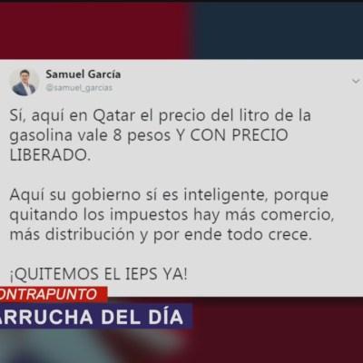Qatar, Samuel García y la paparrucha del día