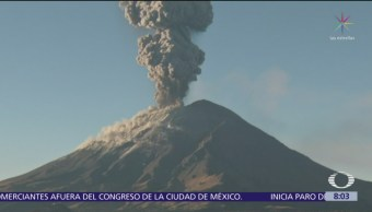 ¿Qué hacer ante el incremento de actividad del volcán Popocatépetl?