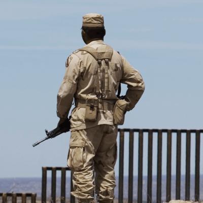 ¿Qué pasó entre soldados mexicanos y la Guardia Nacional de EU?
