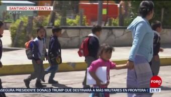 Foto: Simulacros Evacuación Escuelas Popocatépetl 10 de Abril 2019
