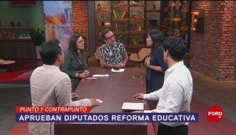 Foto: Reforma Educativa Aprobada Cámara De Diputados 25 de Abril 2019