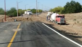 Foto: Reparación de puentes en Hermosillo, Sonora, 15 de abril 2019. Twitter @telemaxson