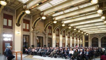 López Obrador pide a su gabinete redoblar esfuerzos