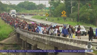 Sánchez Cordero dice que Gobierno quiere reducir flujo de migrantes