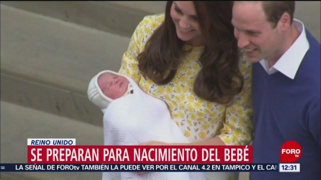 Se acerca nacimiento del bebé de Meghan Markle y el príncipe Harry