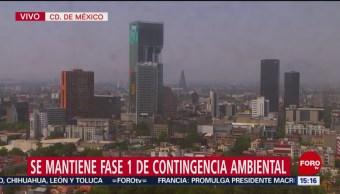 Foto: Se mantiene fase 1 de contingencia ambiental en el Valle de México