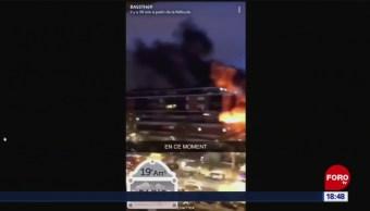 FOTO: Se registra fuerte explosión en edificio residencial en París, Francia, 6 de abril 2019