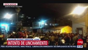 Foto: Linchamiento Alcaldía Álvaro Obregón CDMX Hoy 2 de Abril 2019