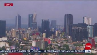 FOTO: Se registra mala calidad del aire en el Valle de México, 6 de abril 2019