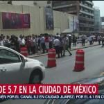 Foto: Se registra sismo en Ciudad de México