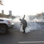 FOTO Se registran disparos cerca de base aérea de Caracas (EFE 30 abril 2019)