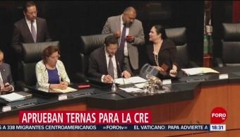 Foto: Senadores avalan elegibilidad de aspirantes a CRE