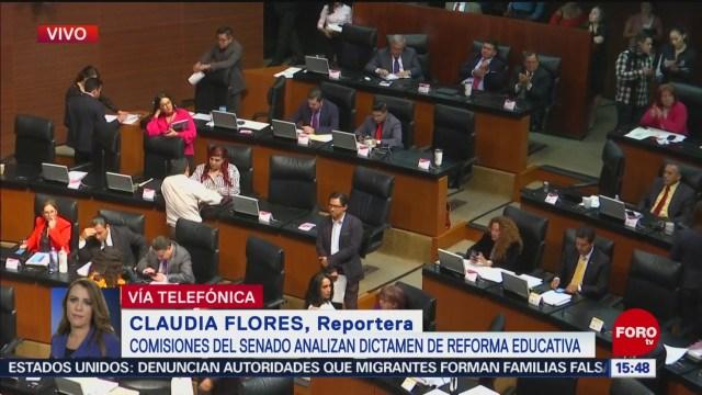 Foto: Senadores discuten reforma laboral