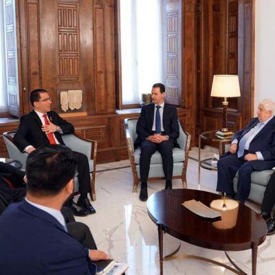 Al Assad compara la situación de Siria con la de Venezuela por injerencias