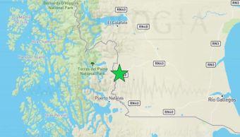 Foto:Un sismo de mediana intensidad se percibió a las 10:17 horas de este martes en la región de Magallanes, 3 abril 2019
