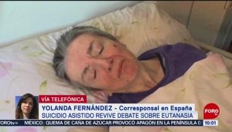 FOTO: Suicidio asistido revive debate sobre eutanasia en España, 6 de abril 2019