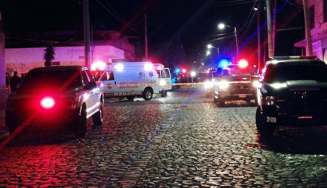 Foto Sujetos armados asesinan a policía en Zapopan, Jalisco 9 abril 2019