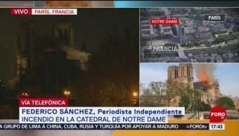 Foto: Tardará años la restauración de Notre Dame: Federico Sánchez
