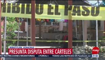 Foto: Tiroteo Minatitlán Termina Celebración Terror 20 de Abril 2019