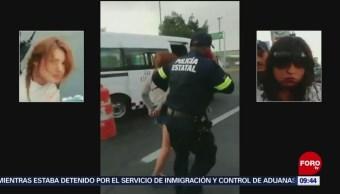 FOTO: Trasladan a asaltantes de transporte público al penal de Chiconautla, 7 de abril 2019