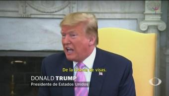 Foto: Trump Posible Proteger Norteamericanos Estados Unidos 9 de Abril 2019