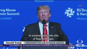 Trump modera amenazas de cierre de frontera, otra vez