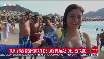 FOTO: Turistas disfrutan vacaciones de Semana Santa en Colima, 20 ABRIL 2019