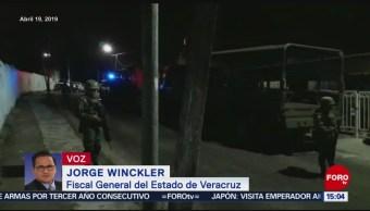 Foto: Vendían estupefacientes en bares de objetivo del multihomicidio de Minatitlán