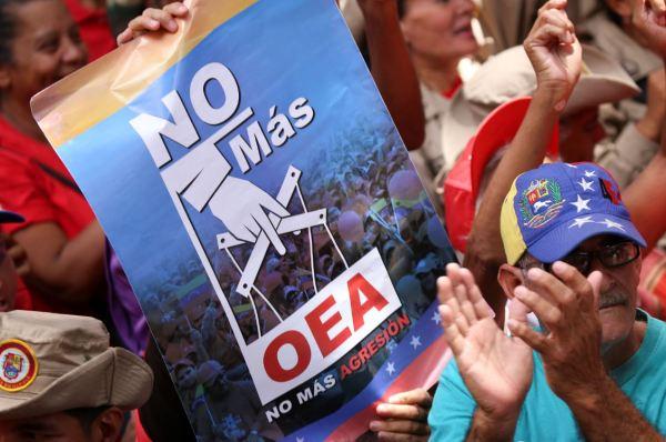 Venezuela sale definitivamente de la OEA