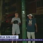 Venezuela sigue afectado por apagón y falta de agua potable