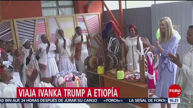 FOTO: Viaja Ivanka Trump a Etiopía, 14 de abril 2019