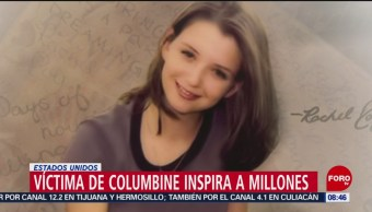 FOTO: Víctima del tiroteo en Columbine inspira a millones, 21 ABRIL 2019