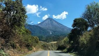 Foto: Volcán de Fuego de Colima, 29 de abril 2019. Twitter @berthareynoso
