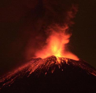 Por el momento no existe posibilidad de erupción en el Popocatépetl: PC