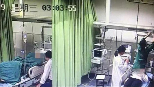 Xiao Li fue hospitalizada por hiperventilación, aunque logró calmarse y fue dada de alta el mismo día (China News)