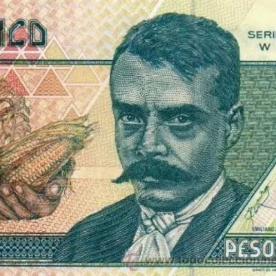 El billete de Emiliano Zapata que salió de circulación