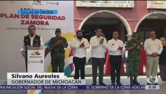 A Michoacán se le respeta: Silvano Aureoles
