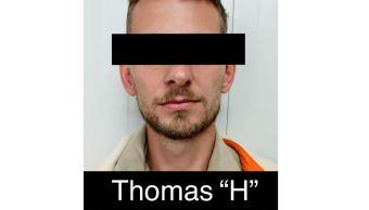 """Foto: Thomas """"H"""", de nacionalidad alemana, era buscado por el delito de robo con violencia, el 11 de mayo de 2019 (FGR)"""