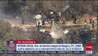 FOTO: Alerta ambiental en la zona metropolitana del Valle de México, 12 MAYO 2019