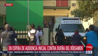 FOTO: Alistan audiencia a dueña del Colegio Rébsamen, 12 MAYO 2019