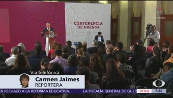 AMLO anuncia que CNTE aceptó reunión del lunes