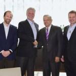 Foto: El presidente de Andrés Manuel López Obrador sostuvo una reunión con un grupo de banqueros de Merril Lynch, 30 mayo 2019