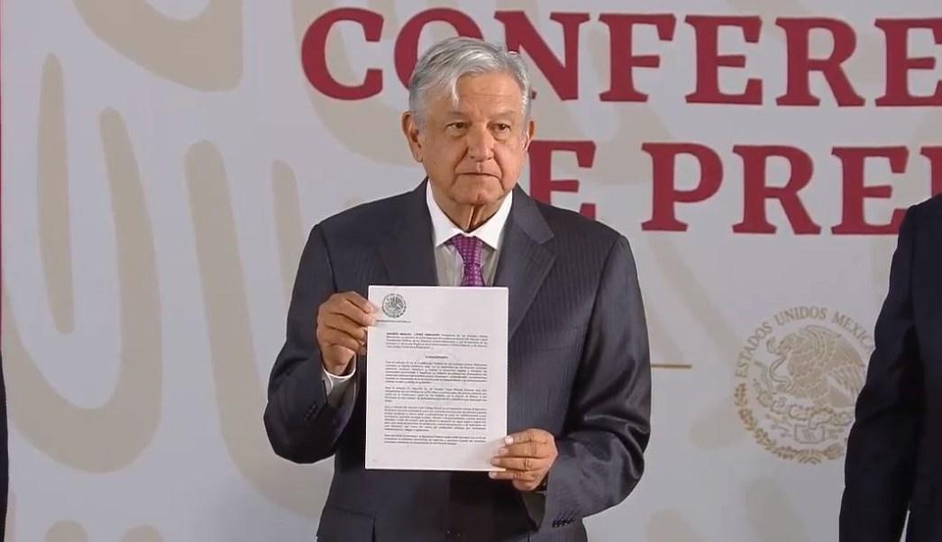 0c91e9c31 Firma AMLO decreto que elimina condonación de impuestos