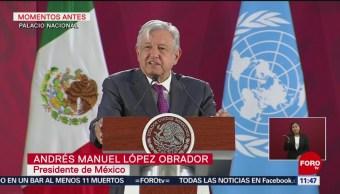AMLO: México no quiere esquemas de cooperación para reforzar medidas de seguridad
