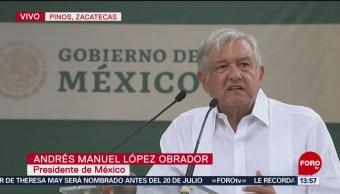 FOTO: AMLO realiza visita en Zacatecas, 24 MAYO 2019
