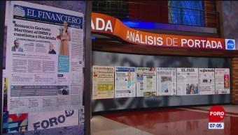 Análisis de las portadas nacionales e internacionales del 22 de mayo del 2019